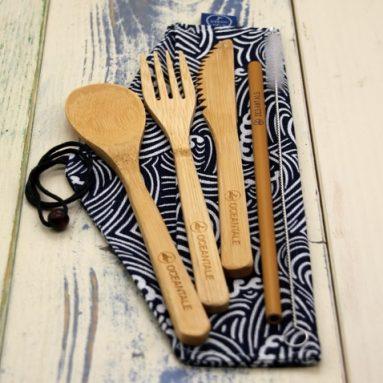 Bambus Besteckset von Oceantale