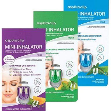 aspUraclip Mini-Inhalator mix