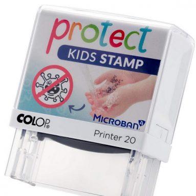 Protect Kids Stamp Kinder-Stempel