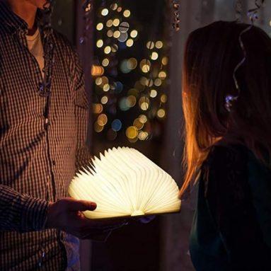 RegeMoudal Faltbare Buchlampe
